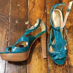 Flirty high heels